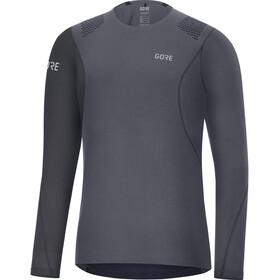 GORE WEAR R7 Camiseta de manga larga Hombre, terra grey/black